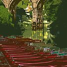 Knaresborough, river by Dave Milnes