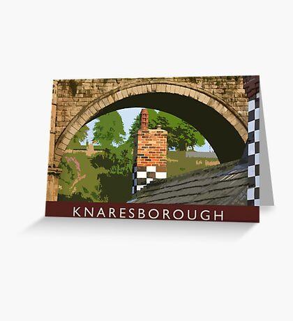 Knaresborough detail Greeting Card