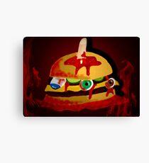 gore-burger    Canvas Print