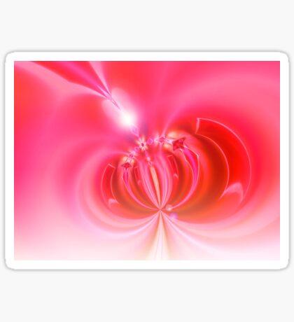 pink light digi dandy Sticker