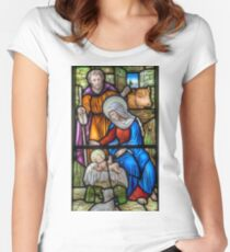 The Birth  Women's Fitted Scoop T-Shirt