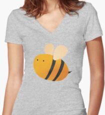 Bee Fitted V-Neck T-Shirt
