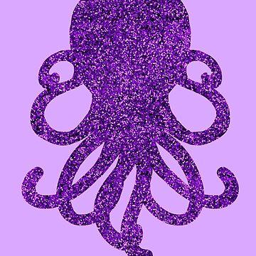 Purple Glitterpus by Mewsa