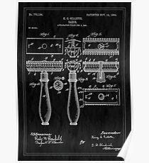 Patent Image - Razor - Inverted Poster