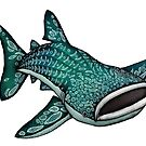 Whale Shark (Large) by mikelevett