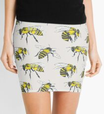 Bees Mini Skirt