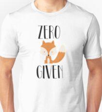 """Zero """"Fox"""" Given T-Shirt"""