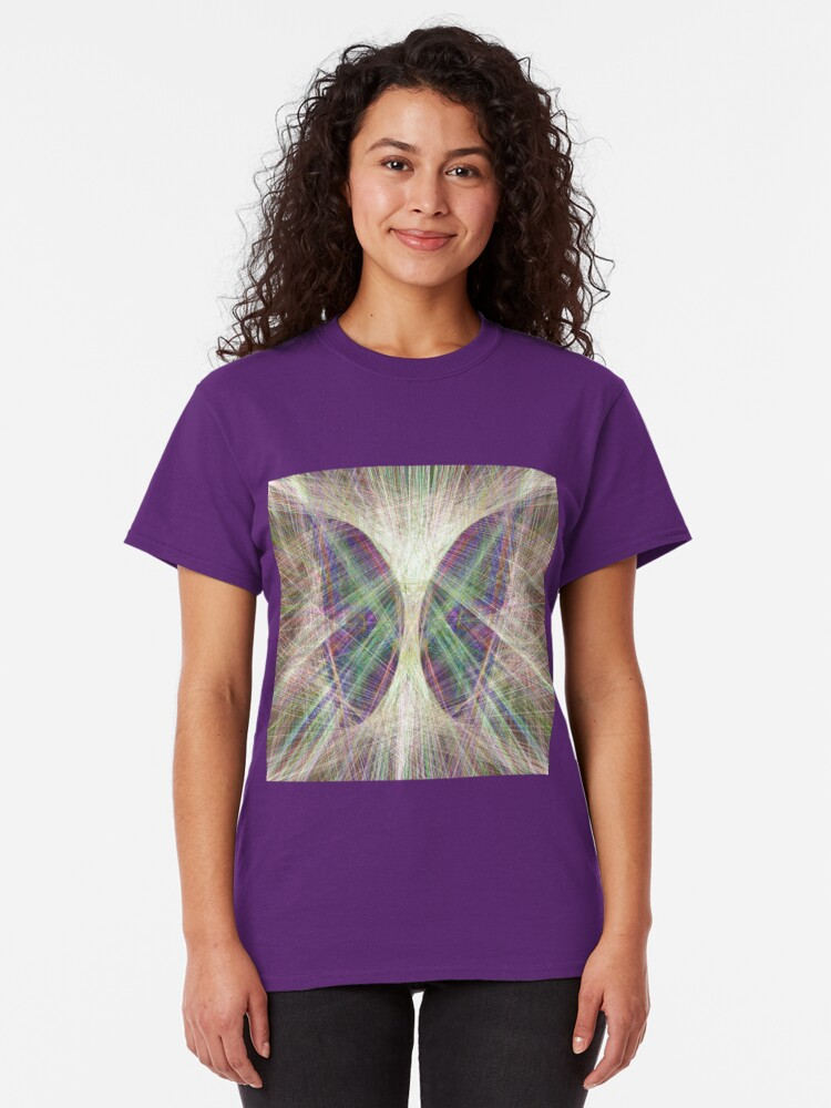 Alternate view of Linify Light butterfly Classic T-Shirt