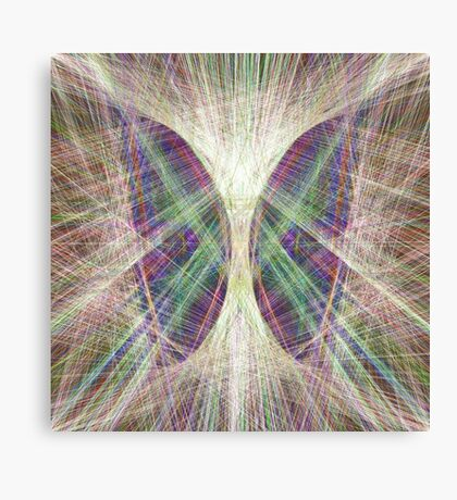 Linify Light butterfly Canvas Print
