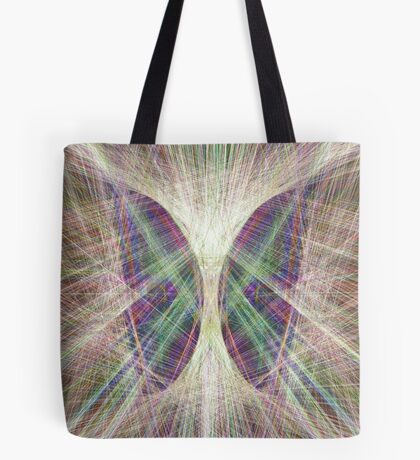 Linify Light butterfly Tote Bag