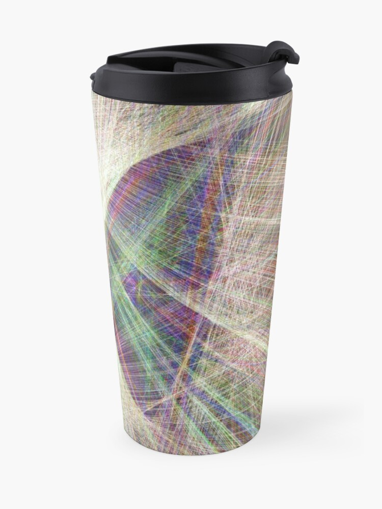 Alternate view of Linify Light butterfly Travel Mug