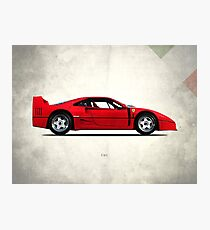 The F40 Photographic Print