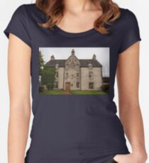 MacAllan Distillery - Easter Elchies House Women's Fitted Scoop T-Shirt