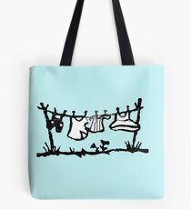 Clothes On The Line Tote Bag