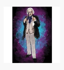 William Hartnell as Doctor Who Photographic Print