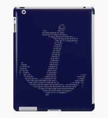 the last ship anchor iPad Case/Skin