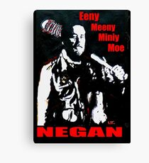 Walking Dead Negan Canvas Print