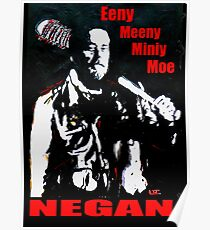 Walking Dead Negan Poster
