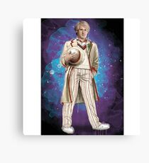 Peter Davidson as Doctor Who Canvas Print