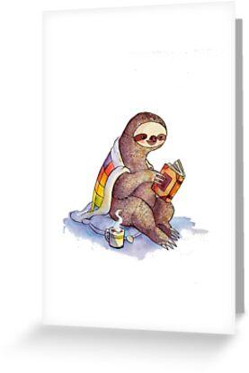 «Cosy Sloth» de katiecrumpton