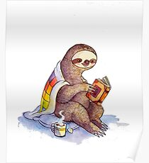 Póster Cosy Sloth