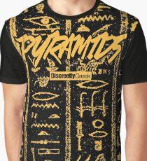 Discreetly Greek - Pyramids Graphic T-Shirt