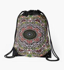 Mandala 6 Drawstring Bag