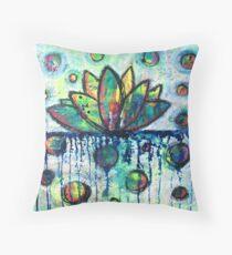 Float on Joy: Inner Power Painting Throw Pillow