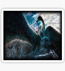 Saphira The Dragon From The Hit Eragon Movie Sticker