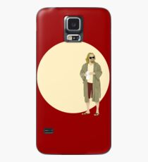 The Dude The big Lebowski Circle Case/Skin for Samsung Galaxy