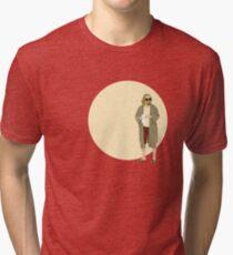 The Dude The big Lebowski Circle Tri-blend T-Shirt