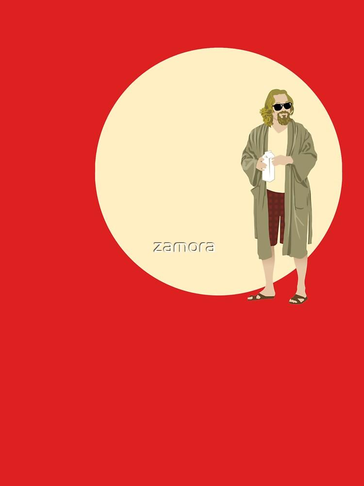 The Dude El gran círculo de Lebowski de zamora