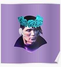 Matt Miller Flower Crown Poster