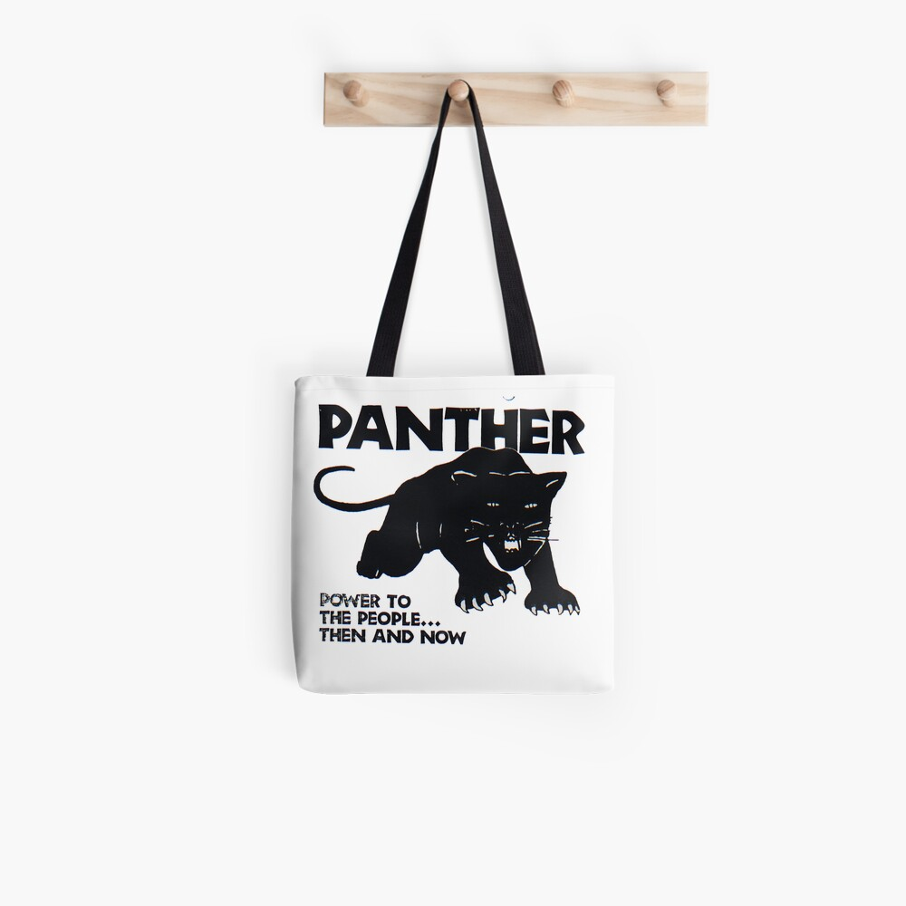 Schwarze Panther Tote Bag