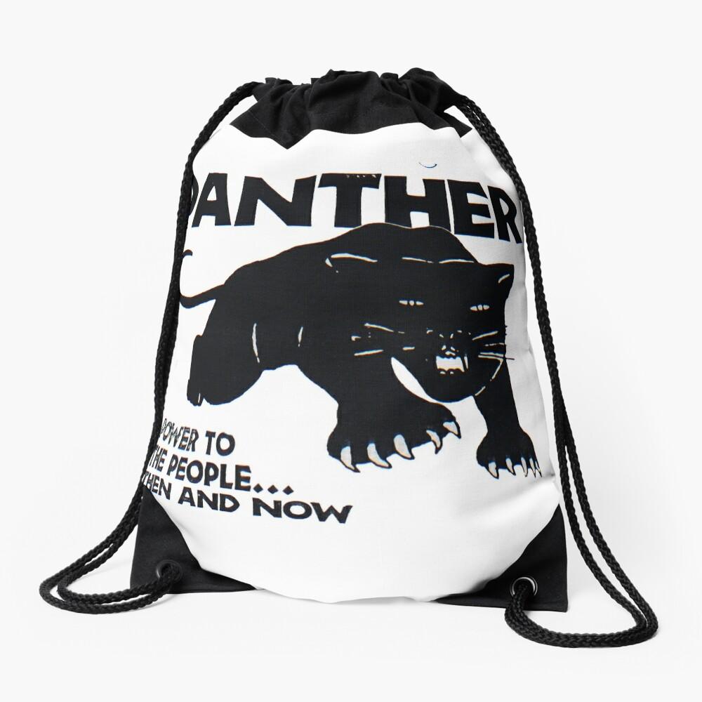 Schwarze Panther Turnbeutel