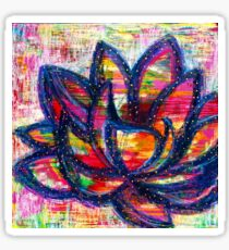 Lotus Life: Inner Power Painting Sticker