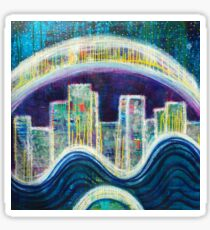 Rebirth New Earth: Inner Power Painting Sticker