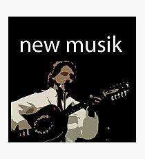 NEW MUSIK Photographic Print