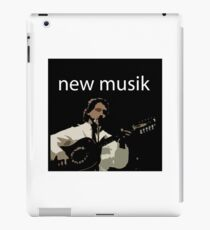 NEW MUSIK iPad Case/Skin