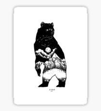 Black Bear Mountain Sticker