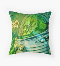 Fishmonkey! Throw Pillow