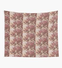 Magnolia Tree In Bloom - Antique Victorian Needlepoint Effect Wall Tapestry