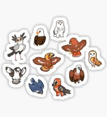 Birbs of Prey Sticker