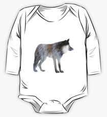 Wolf One Piece - Long Sleeve