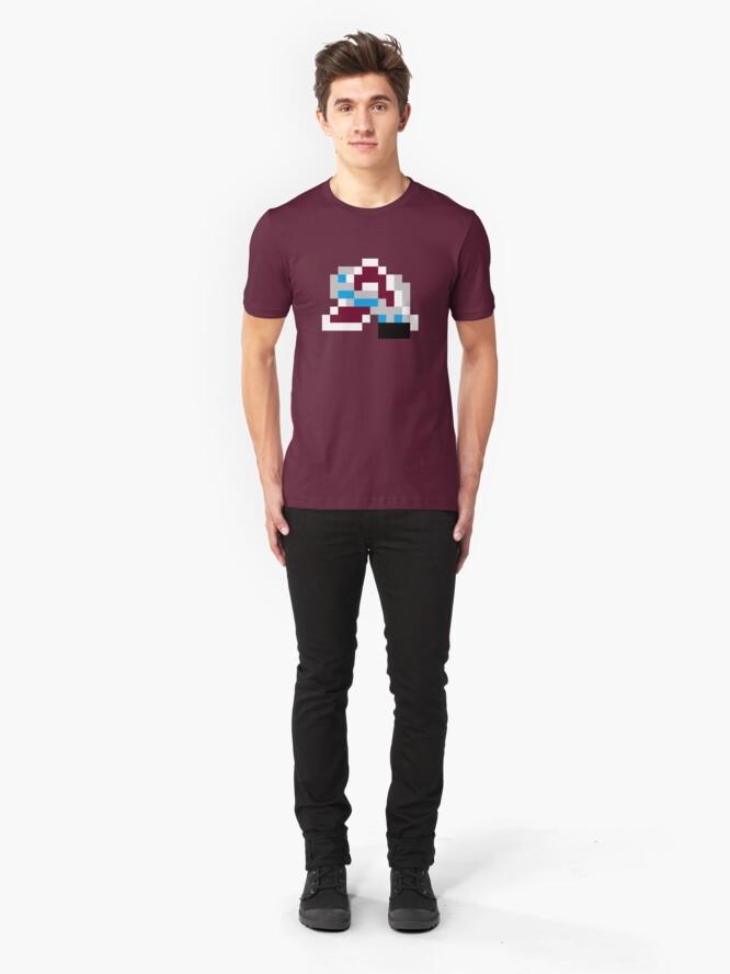 Alternate view of 8-Bit Colorado Slim Fit T-Shirt
