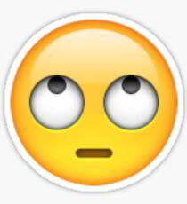Eye Rolling Emoji Sticker