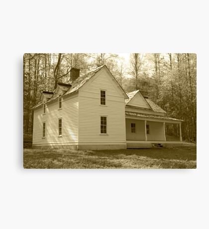 The Woody House Canvas Print