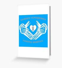 Diabetes Heroes Greeting Card