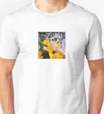 Springtime Crocuses - Diana 120mm Photograph Unisex T-Shirt
