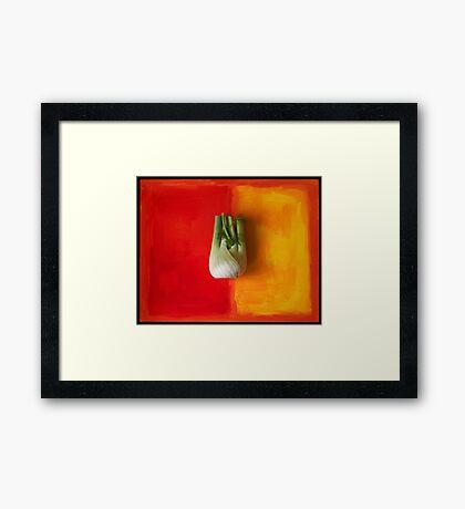 fennel Framed Print